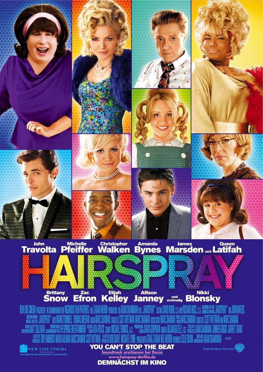 Лак для волос / Hairspray (2007): постер