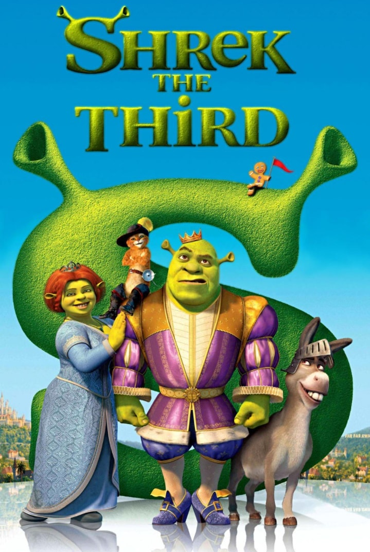 Шрек Третий / Shrek the Third (2007): постер