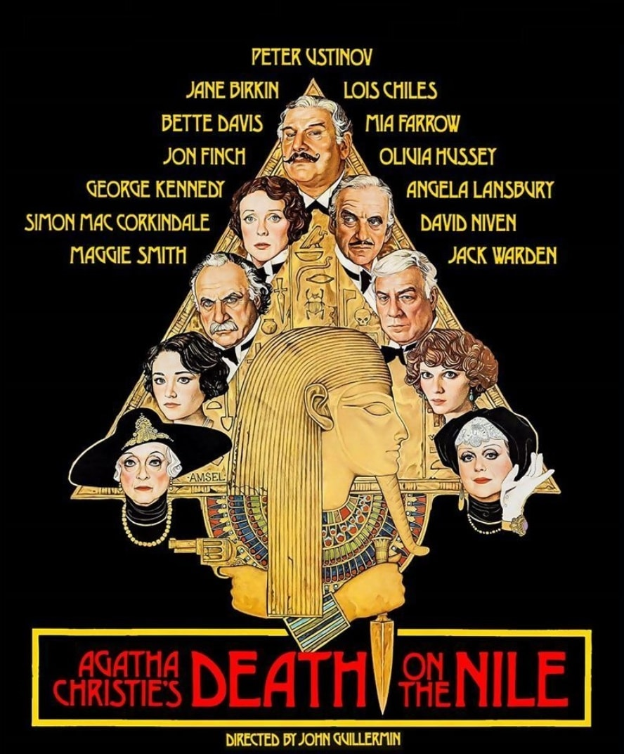Смерть на Ниле / Death on the Nile (1978): постер