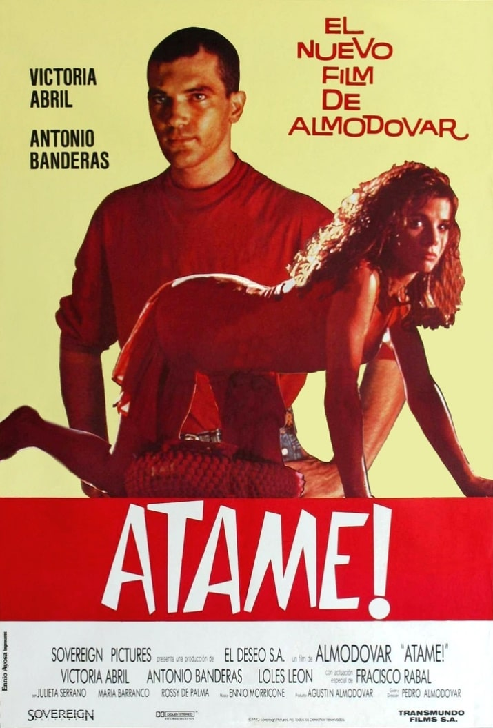Свяжи меня! / ¡Átame! (1989): постер