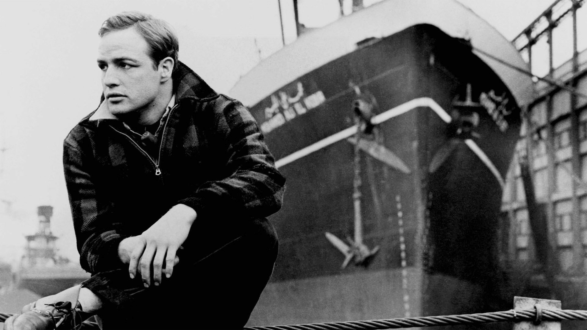 В порту / On the Waterfront (1954): кадр из фильма