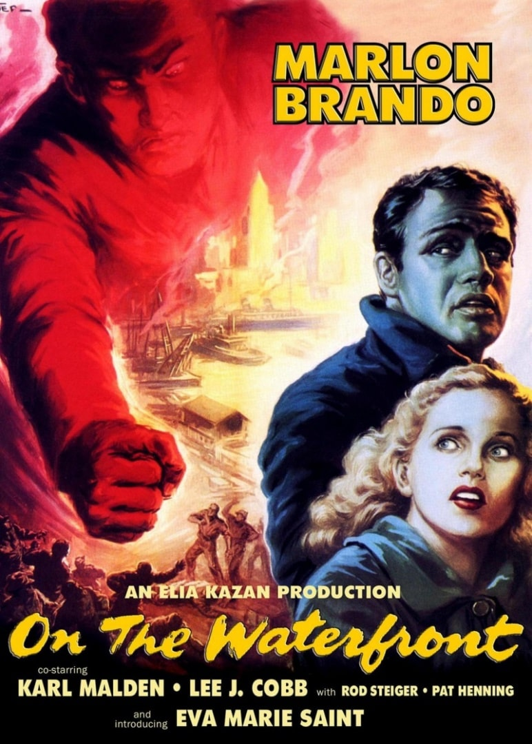 В порту / On the Waterfront (1954): постер