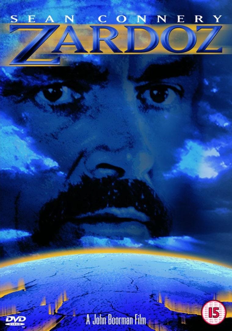 Зардоз / Zardoz (1974): постер