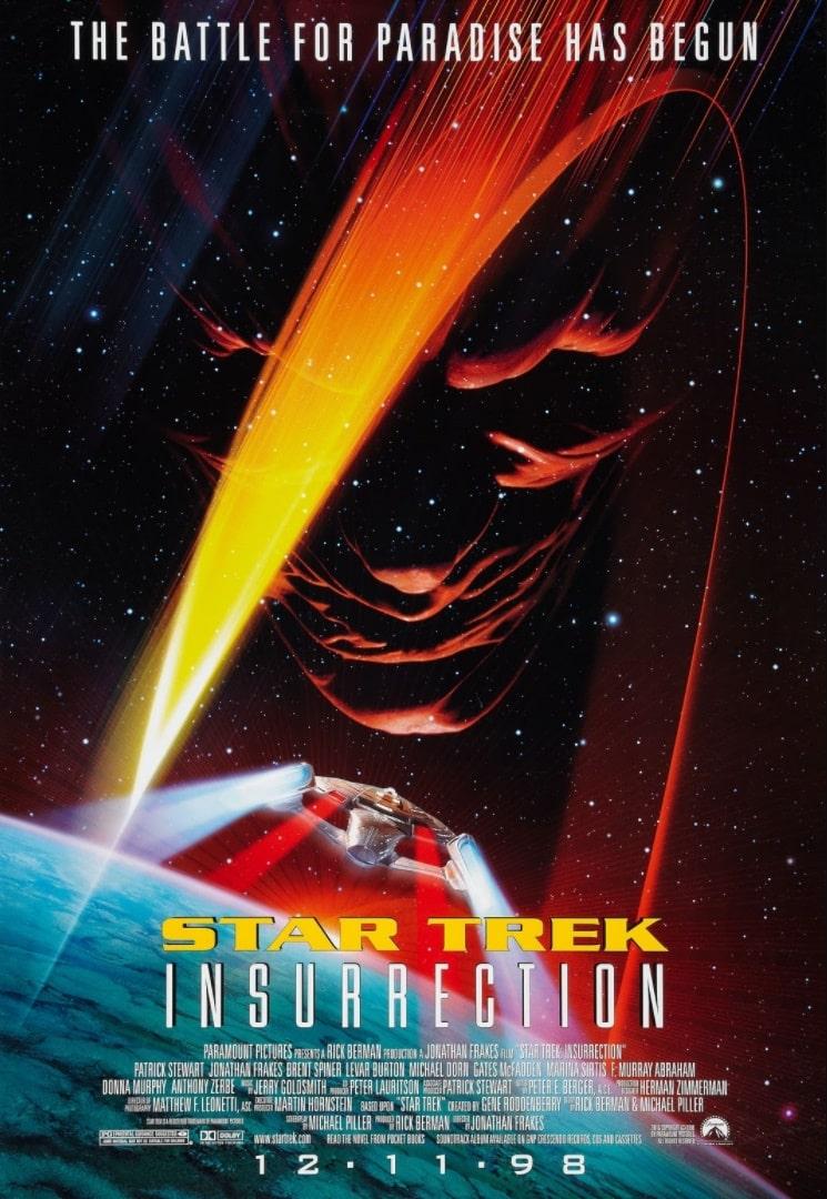 Звёздный путь: Восстание / Star Trek: Insurrection (1998): постер
