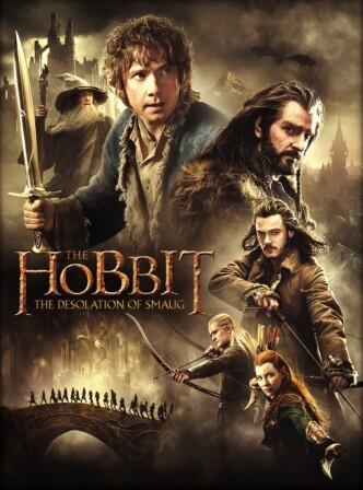 Хоббит: Пустошь Смауга / The Hobbit: The Desolation of Smaug (2013): постер