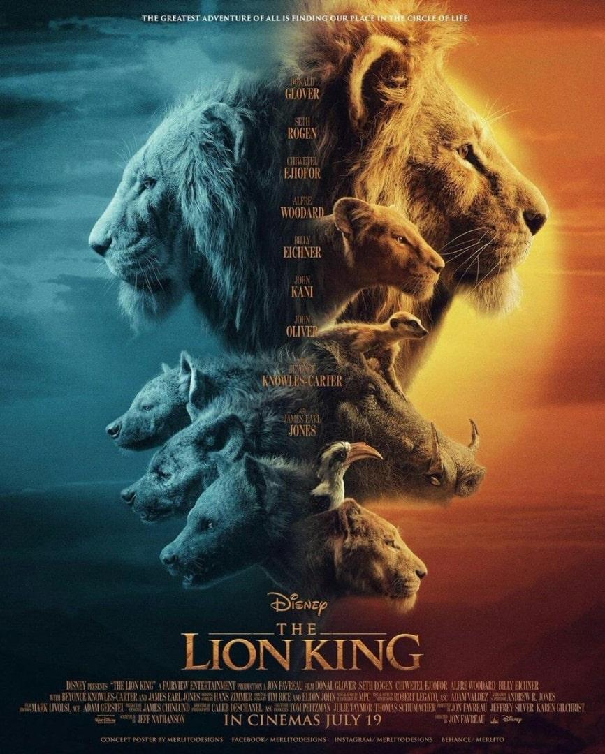 Король Лев / The Lion King (2019): постер