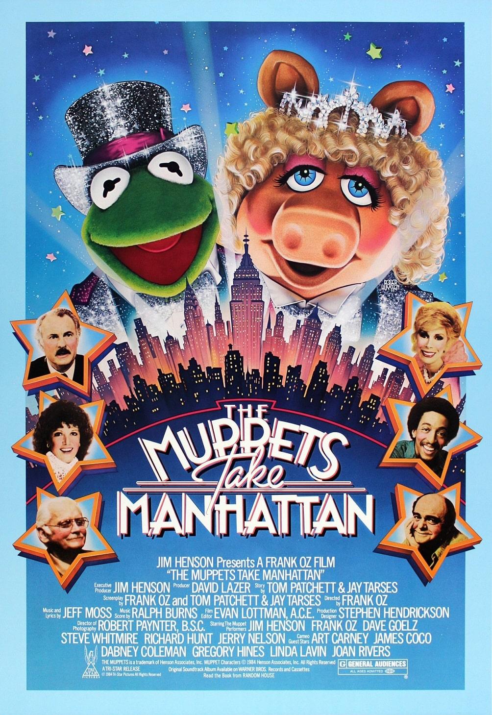 Маппеты на Манхэттене / The Muppets Take Manhattan (1984): постер