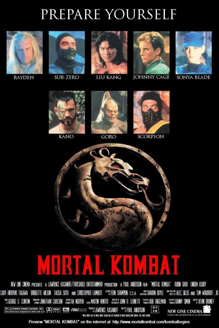 Смертельная битва / Mortal Kombat (1995): постер