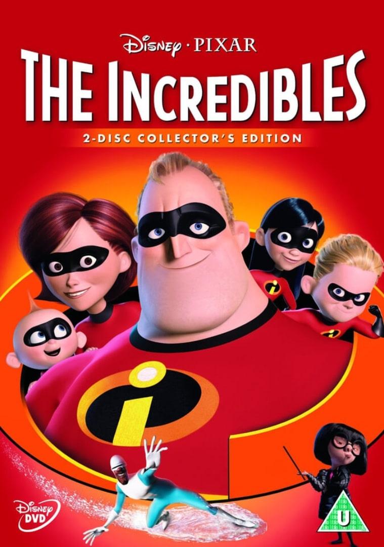 Суперсемейка / The Incredibles (2004): постер