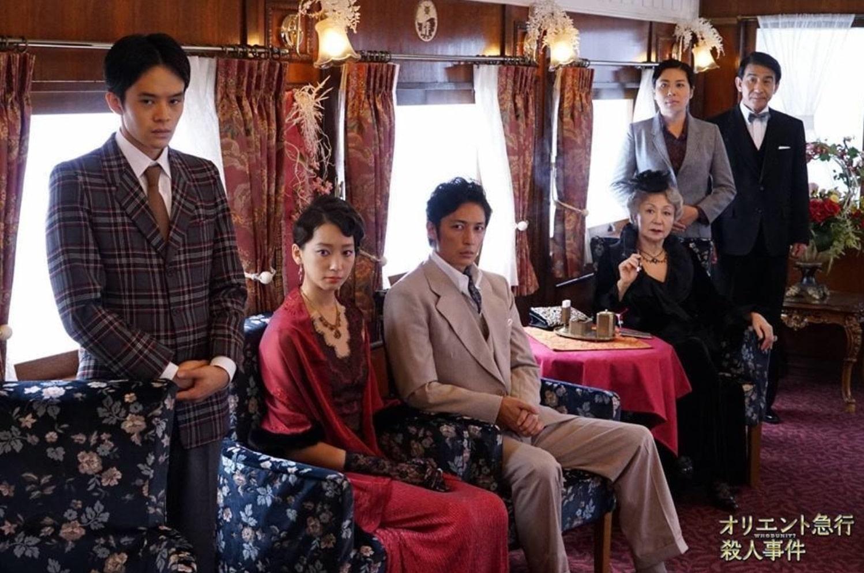 Убийство в «Восточном экспрессе» / Oriento kyuukou satsujin jiken (2015): кадр из мини-сериала