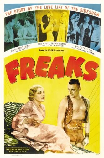 Уроды / Freaks (1932): постер