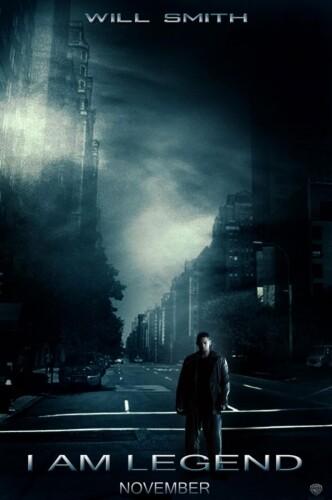 Я – легенда / I Am Legend (2007): постер