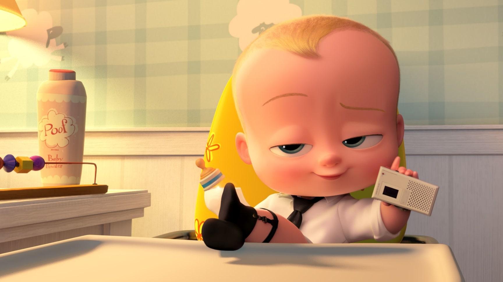 Босс-молокосос / The Boss Baby (2017): кадр из фильма