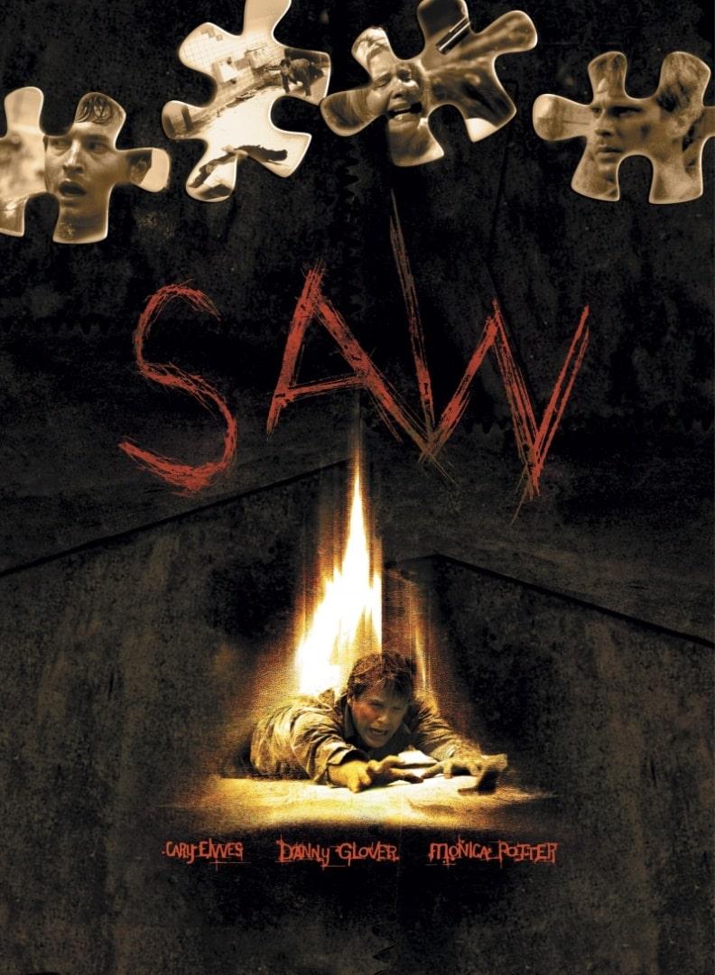Пила. Игра на выживание / Saw (2004): постер