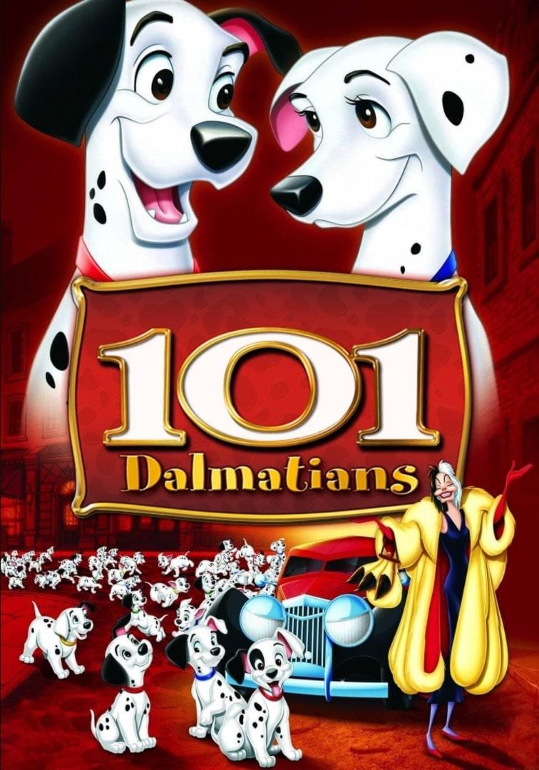 101 далматинец / One Hundred and One Dalmatians (1961): постер