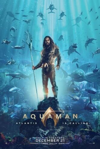 Аквамен / Aquaman (2018): постер