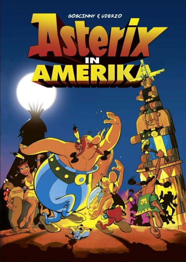 Астерикс завоёвывает Америку / Asterix in America (1994): постер