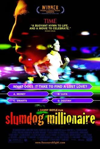 Миллионер из трущоб / Slumdog Millionaire (2008): постер