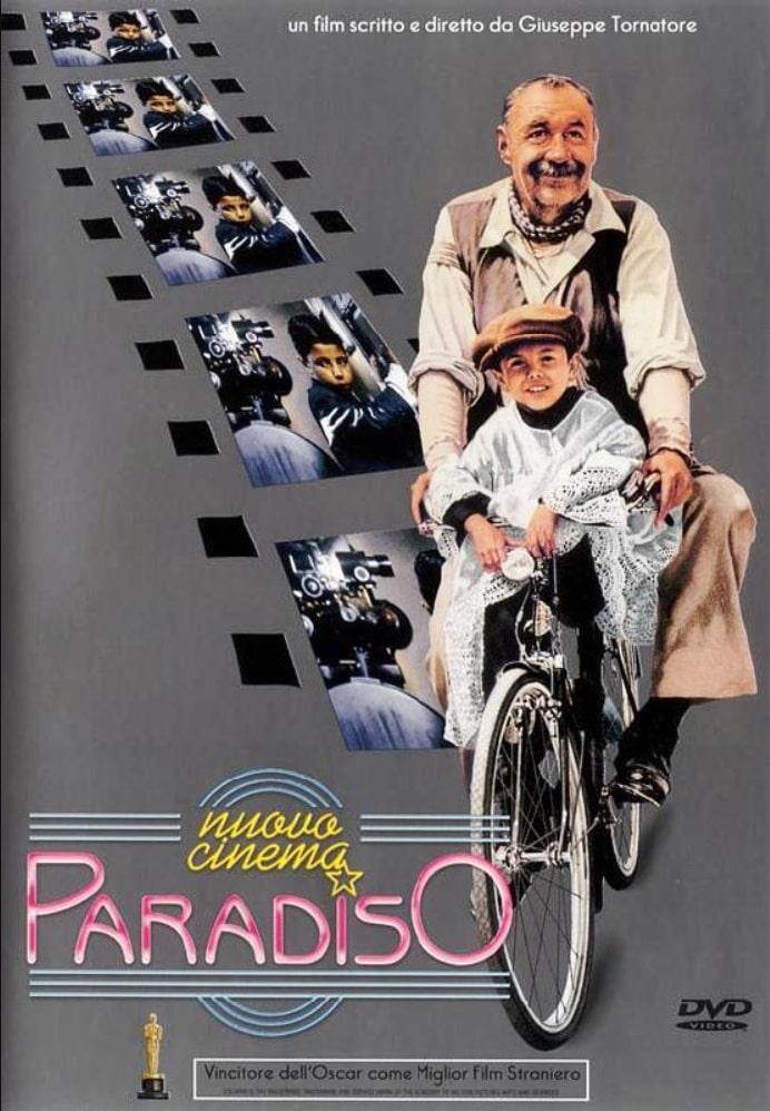 Новый кинотеатр «Парадизо» / Nuovo Cinema Paradiso (1988): постер