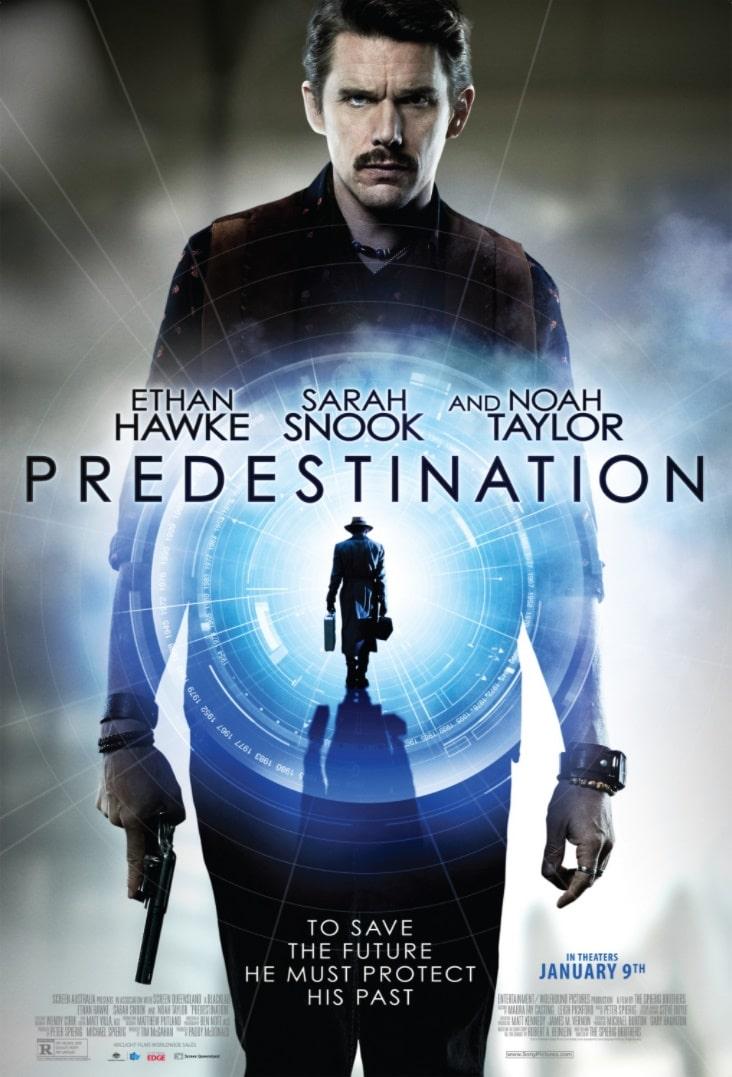 Патруль времени / Predestination (2014): постер