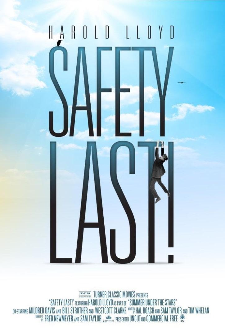 Безопасность прениже всего / Safety Last! (1923): постер