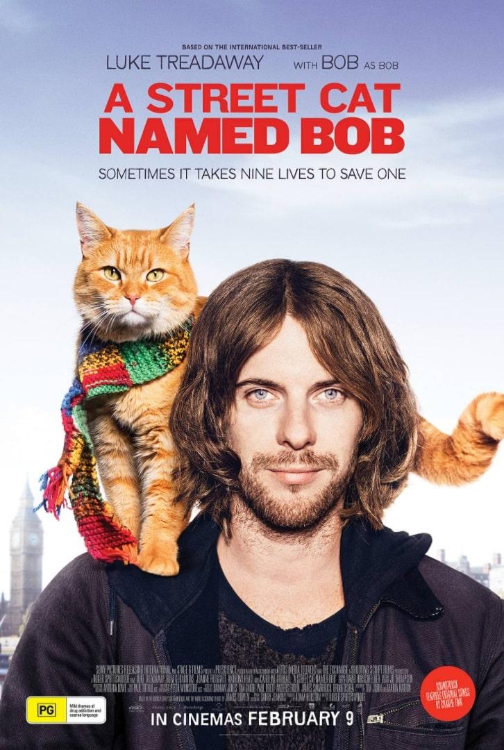Уличный кот по кличке Боб / A Street Cat Named Bob (2016): постер