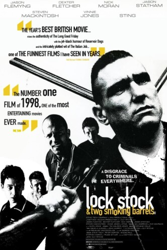 Карты, деньги, два ствола / Lock, Stock and Two Smoking Barrels (1998): постер
