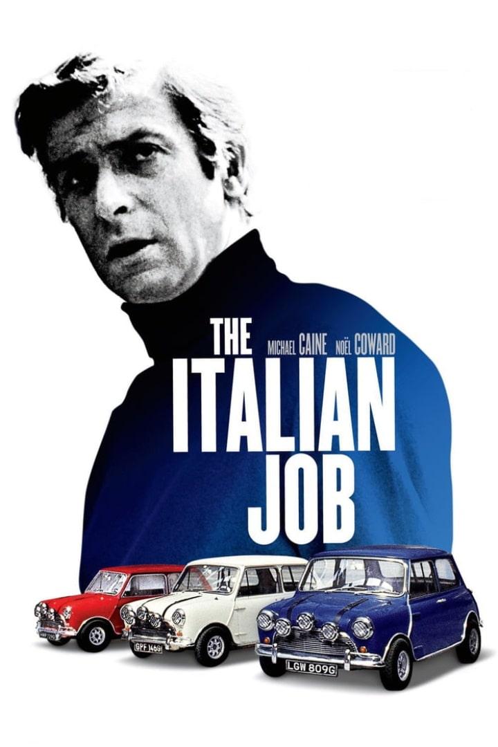 Ограбление по-итальянски / The Italian Job (1969): постер