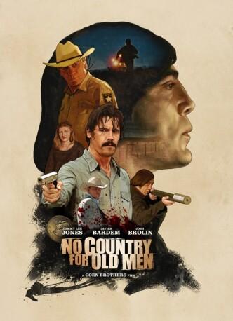 Старикам тут не место / No Country for Old Men (2010): постер