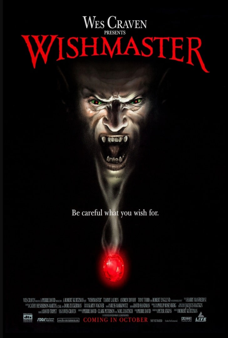 Исполнитель желаний / Wishmaster (1997): постер