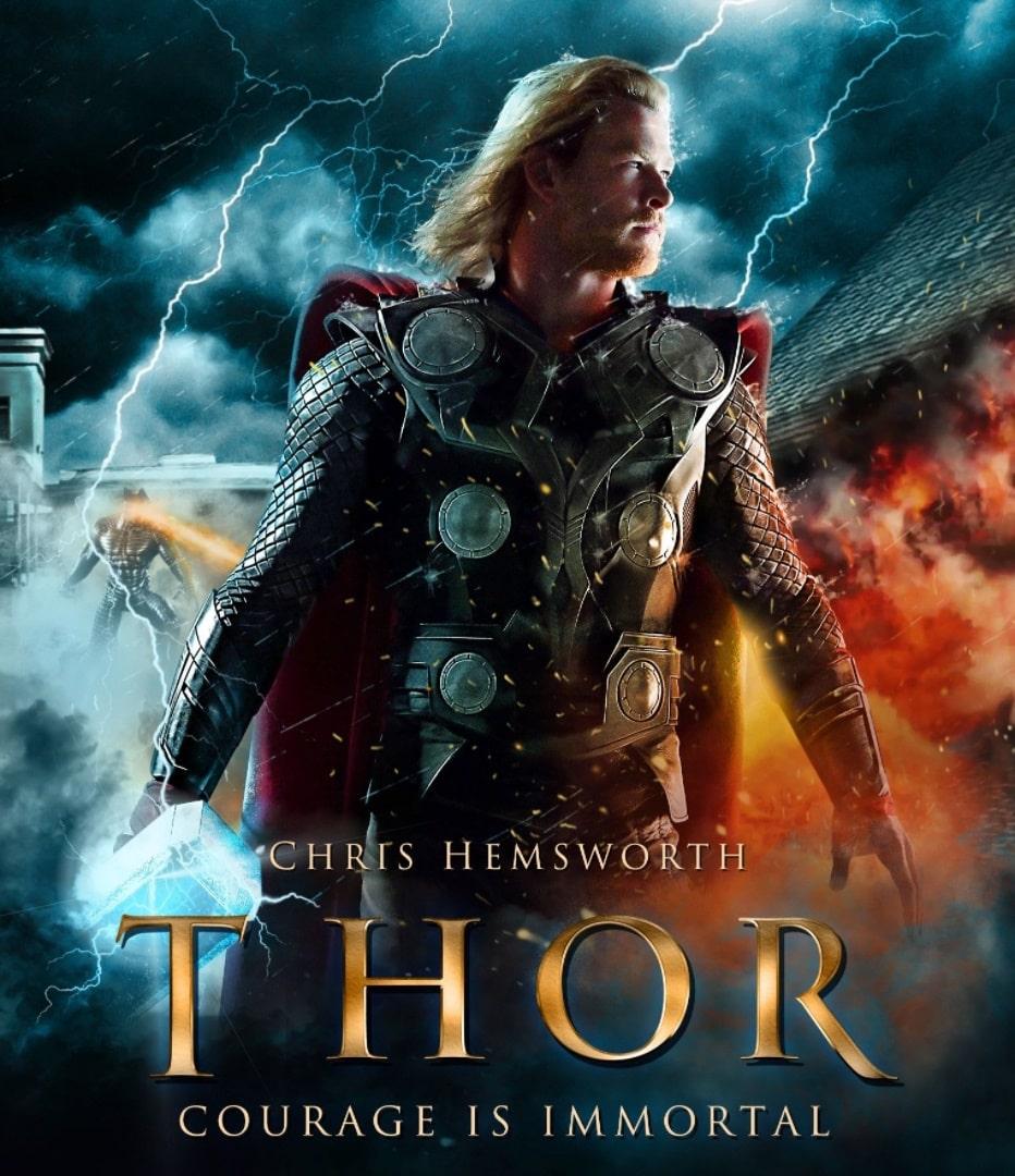 Тор / Thor (2011): постер