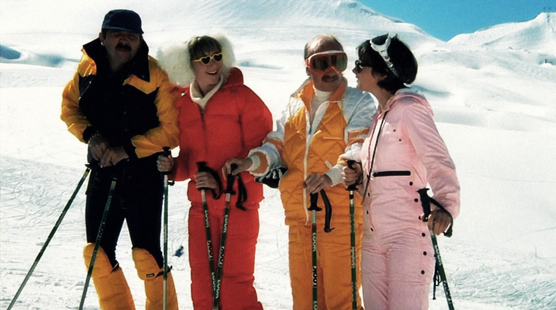 Загорелые на лыжах / Les bronzés font du ski (1979): кадр из фильма