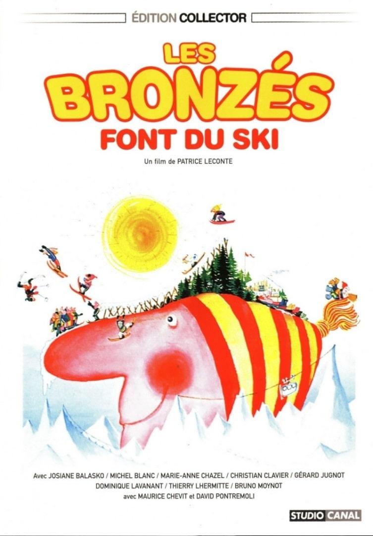 Загорелые на лыжах / Les bronzés font du ski (1979): постер