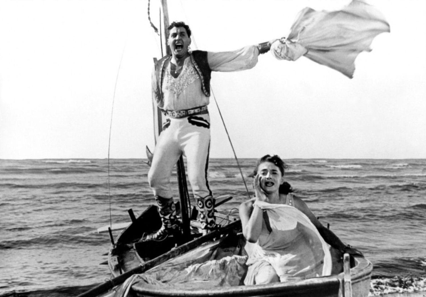 Белый шейх / Lo sceicco bianco (1952): кадр из фильма