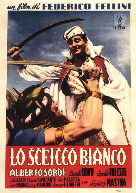 Белый шейх / Lo sceicco bianco (1952): постер