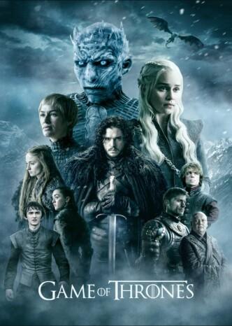 Игра престолов / Game of Thrones (2011-2019) (телесериал): постер