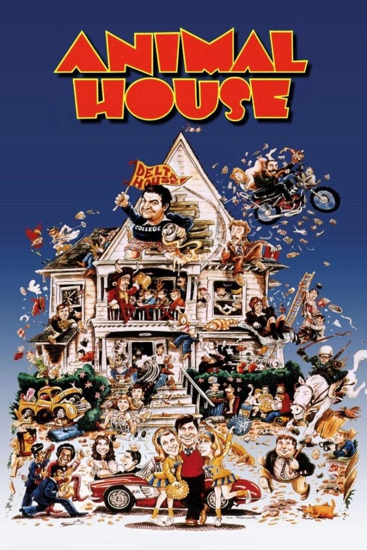 Зверинец / National Lampoon's Animal House (1978): постер