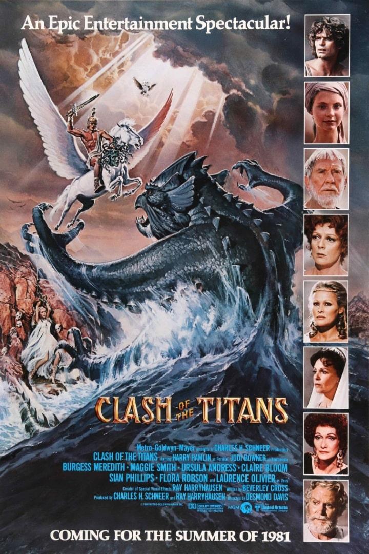 Битва титанов / Clash of the Titans (1981): постер