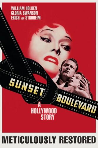 Бульвар Сансет / Sunset Blvd. (1950): постер