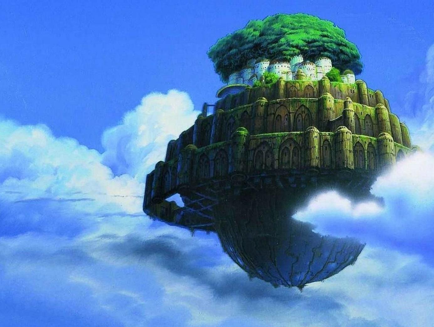 Небесный замок Лапута / Tenkû no shiro Rapyuta (1986): кадр из фильма