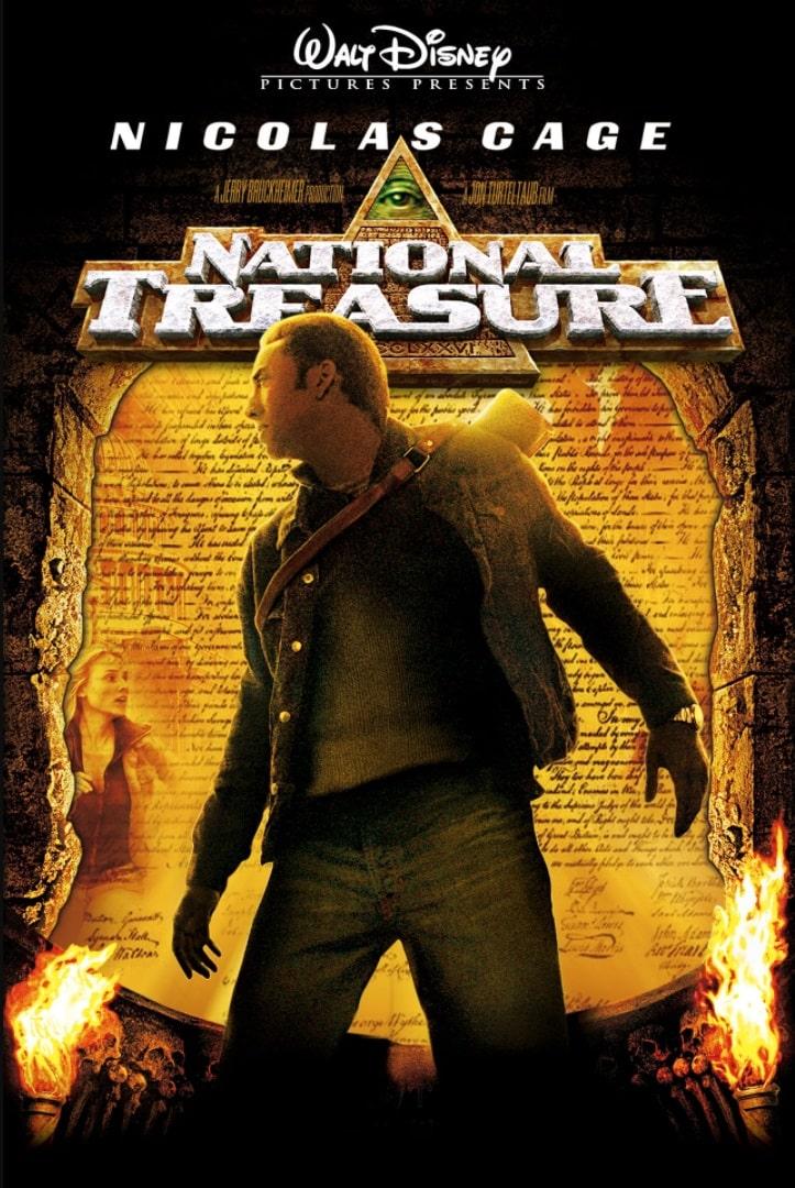 Сокровище нации / National Treasure (2004): постер