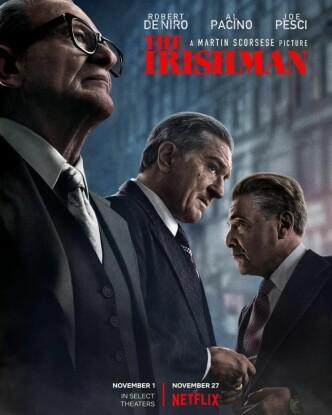 Ирландец / The Irishman (2019): постер