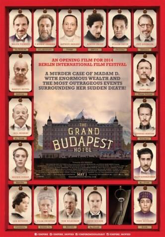 Отель «Гранд Будапешт» / The Grand Budapest Hotel (2014): постер