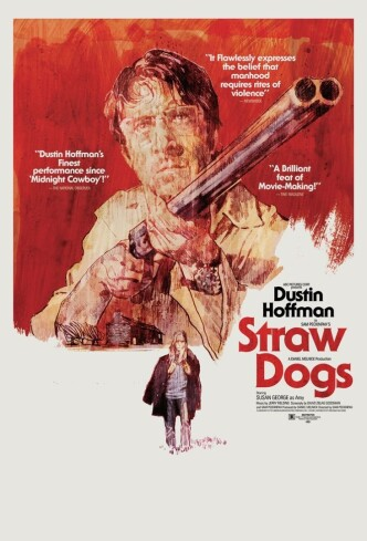 Соломенные псы / Straw Dogs (1971): постер